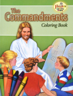 Coloring Book about the Commandments Cover Image
