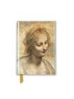 Leonardo Da Vinci: Detail of the Head of the Virgin (Foiled Pocket Journal) (Flame Tree Pocket Books) Cover Image