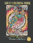 Crafts Animal Coloring: Healing Book - Butterflies, Birds, Dolphins, Cats, Dragons. Cover Image