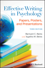 Effective Writing in Psychology: Papers, Posters, and Presentations Cover Image