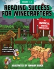 Reading Success for Minecrafters: Grades 1-2 (Reading for Minecrafters) Cover Image