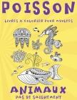Livres à colorier pour adultes - Pas de saignement - Animaux - Poisson Cover Image