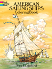 American Sailing Ships Coloring Book (Dover History Coloring Book) Cover Image