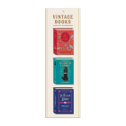 Vintage Books Shaped Magnetic Bookmarks Cover Image
