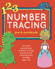Number Tracing Pre-K Workbook: Fun and Educational Number Writing Practice and Coloring Book for Kids Ages 3-5 (Books for Kids Ages 3-5) Cover Image