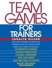 Team Games for Trainers (McGraw-Hill Training) Cover Image