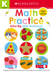 Math Practice Kindergarten Workbook: Scholastic Early Learners (Extra Big Skills Workbook) Cover Image