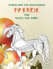 Malbücher für Erwachsene - Lustig und billig - Tier - Pferde Cover Image