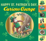 Happy St. Patrick's Day, Curious George tabbed board book Cover Image