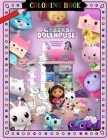 Gabby's Dollhouse Coloring Book Cover Image