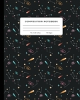 Composition Notebook: Outer Space, Constellations, Shooting Stars, Galaxies, Astronomy, Cosmology 7.5