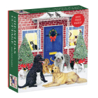 Christmas Cottage Square Boxed 1000 Piece Puzzle Cover Image