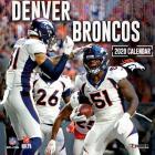 Denver Broncos: 2020 12x12 Team Wall Calendar Cover Image