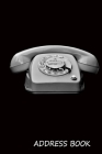Address Book: : Vintage rotary dial phone cover, 6 x 9