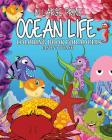 Ocean Life Coloring Book for Adults ( In Large Print ) Cover Image