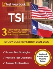 TSI Study Questions Book 2021-2022: 3 TSI Practice Tests for the Texas Success Initiative Assessment [Updated for the New Outline Guide] Cover Image