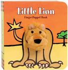 Little Lion: Finger Puppet Book (Little Finger Puppet Board Books) Cover Image