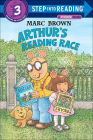 Arthur's Reading Race (Step Into Reading Sticker Books (Pb)) Cover Image