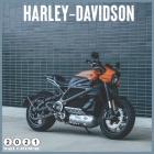 Harley-Davidson 2021 Calendar: Official American Motorcycle Harley Davidson 2021 Calendar 18 Months Cover Image