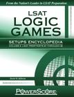 LSAT Logic Games Setups Encyclopedia, Volume 2 (Powerscore Test Preparation) Cover Image