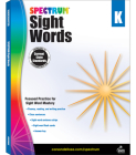 Spectrum Sight Words, Grade K Cover Image