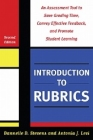 Introduction to Rubrics: An Assessment Tool to Save Grading Time, Convey Effective Feedback, and Promote Student Learning Cover Image