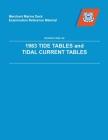 MMDREF Tide Tables & Tidal Current Tables 1983 Cover Image