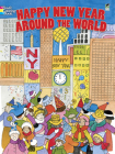 Happy New Year Around the World (Dover Coloring Books) Cover Image