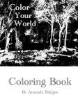 Color Your World - Coloring Book Cover Image