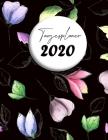Tagesplaner 2020: Eine Seite = ein Tag - Buchkalender zum Mitnehmen in A4 Cover Image