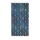 Paperblanks Blue Velvet Slim Lined Cover Image
