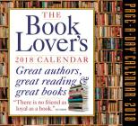The Book Lover's Page-A-Day Calendar 2018 Cover Image