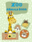 Zoo Animals Book: Fun, Easy, and Relaxing Coloring Pages for Animal Lovers Cover Image