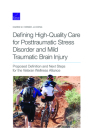 Defining High-Quality Care for Posttraumatic Stress Disorder and Mild Traumatic Brain Injury: Proposed Definition and Next Steps for the Veteran Welln Cover Image