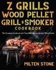 Z Grills Wood Pellet Grill & Smoker Cookbook Cover Image