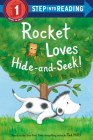 Rocket Loves Hide-and-Seek! (Step into Reading) Cover Image