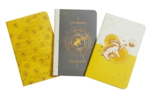 Harry Potter: Hufflepuff Constellation Sewn Pocket Notebook Collection (Harry Potter: Constellation) Cover Image