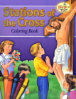 Coloring Book about the Stations of the Cross Cover Image