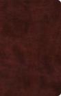 ESV Large Print Thinline Bible (Trutone, Mahogany) Cover Image
