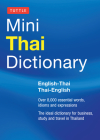 Tuttle Mini Thai Dictionary: English-Thai / Thai-English (Tuttle Mini Dictiona) Cover Image