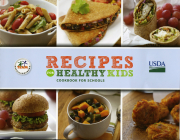 Recipes for Healthy Kids Cookbook for Schools Cover Image