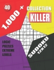 1,000 + Collection sudoku killer 12x12: Logic puzzles extreme levels Cover Image