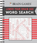 Brain Games Lower y Brain Age Word Search Cover Image