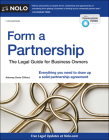 Form a Partnership: The Legal Guide for Business Owners Cover Image