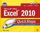 Microsoft Office Excel 2010 Quicksteps Cover Image