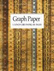 Graph Paper - 1/4 Inch Grid Paper, 100 Pages: Graph Paper Notebook (8.5X11) Cover Image
