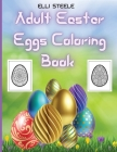 Adult Easter Eggs Coloring Book Cover Image