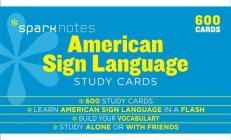 American Sign Language Sparknotes Study Cards, 20 Cover Image