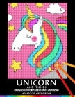 Unicorn and Friend Color by Numbers for Adults: Mosaic Coloring Book Stress Relieving Design Puzzle Quest Cover Image