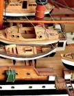 Model Ship Building Notebook Large Size 8.5 x 11 Ruled 150 Pages Softcover Cover Image